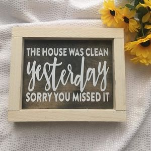 Hand Crafted | House Sign / Home Decor
